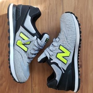New Balance 574 Jersey Knit Sneakers